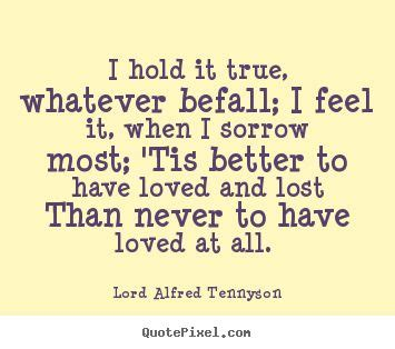 Write the biography and work of alfred lord tennyson
